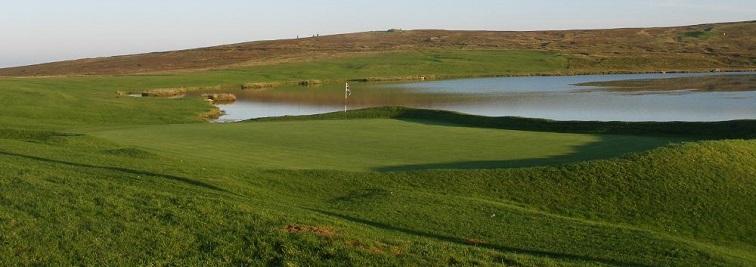 Whalsay Golf Club in Shetland Islands