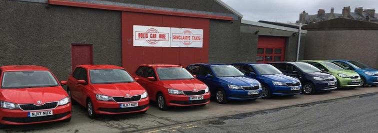 Bolt's Car Hire Lerwick in Shetland Islands
