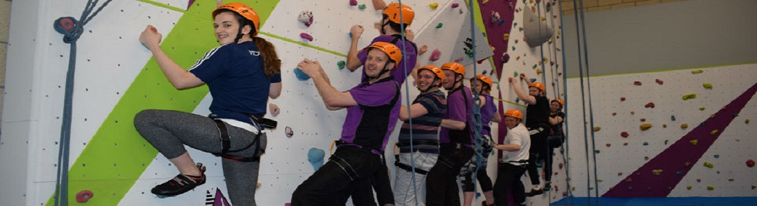Indoor Climbing Wall in Shetland Recreational Trust, Clickimin Leisure Complex, Lochside Shetland