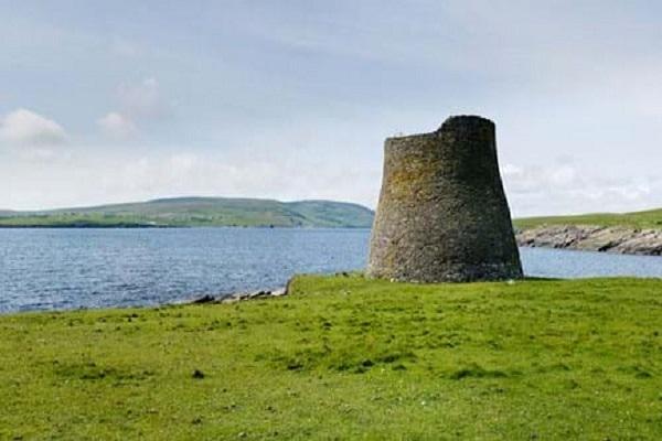 Broch of Mousa in Shetland